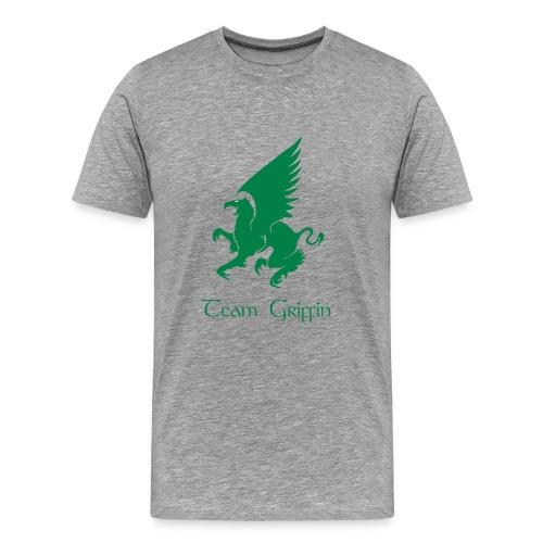 Men's Gray Premium T-Shirt - Men's Premium T-Shirt