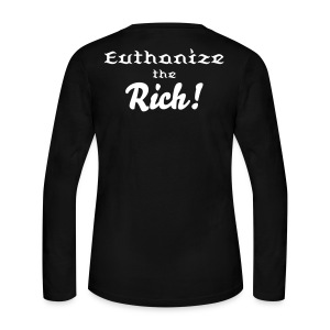 Euthanize Pinky - Women's Long Sleeve Jersey T-Shirt