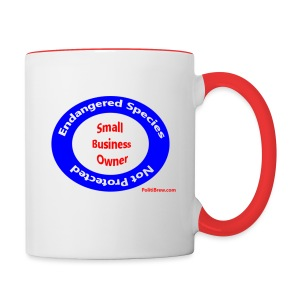Small Business Owner - Contrast Coffee Mug