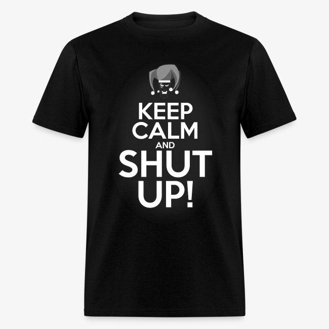 """WHP """"Keep Calm"""" Men's T-Shirt"""