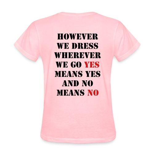 No Means No - Women's T-Shirt