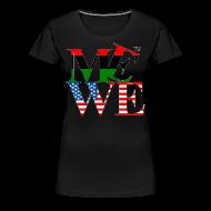 T-Shirts ~ Women's Premium T-Shirt ~ Me We Afro-American Tee (women's)