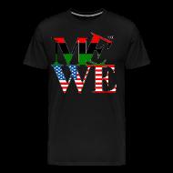 T-Shirts ~ Men's Premium T-Shirt ~ Me We Afro-American Tee