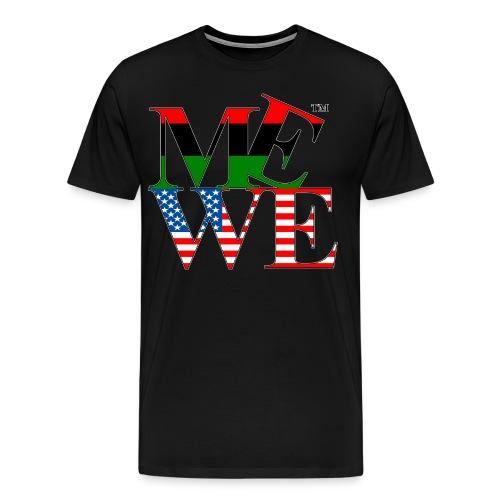 Me We Afro-American Tee - Men's Premium T-Shirt