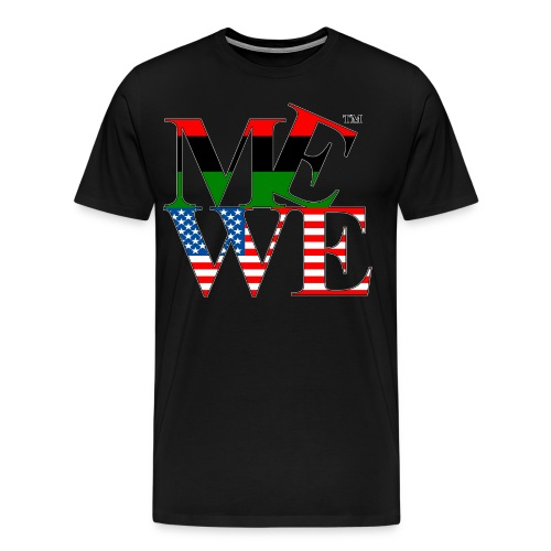 Me We Afro-American Tee - Men's Premium T-Shirt