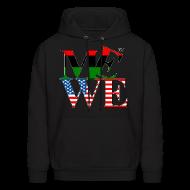 Hoodies ~ Men's Hoodie ~ Me We Afro-American Hoody