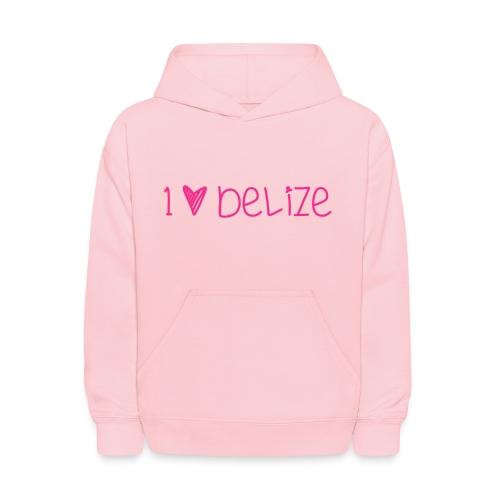 I heart Belize kid hoodie - Kids' Hoodie