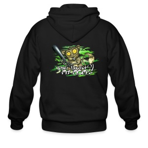 What exactly my mom?! - Men's Zip Hoodie
