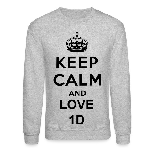 keep calm and love 1D ~ niall horan - Crewneck Sweatshirt