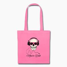 DJ SKULL Music to Death Bags & backpacks