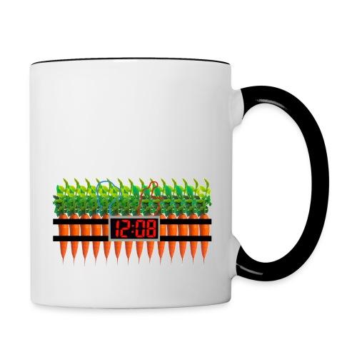 Carrot Bomb Mug - Contrast Coffee Mug