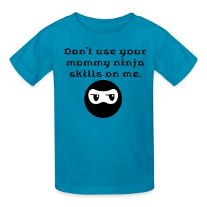 Mommy Ninja Skills t-shirt - Kids' T-Shirt