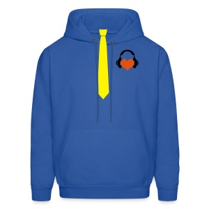 Business DUDE With Horns LOL! TootenGaming - Men's Hoodie