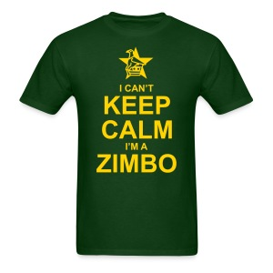 Keep Calm Zimbo - Men's T-Shirt