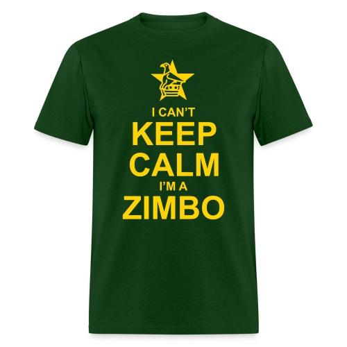 Keep Calm Zimbo - Men's T-Shirt