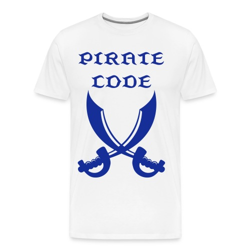 Pirate Code! - Men's Premium T-Shirt