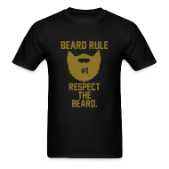 T-Shirts ~ Men's T-Shirt ~ Beard Rule #1