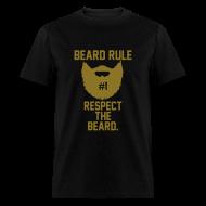 T-Shirts ~ Men's T-Shirt ~ Beard Rule #1