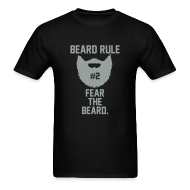 T-Shirts ~ Men's T-Shirt ~ Beard Rule #2