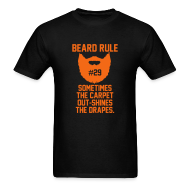 T-Shirts ~ Men's T-Shirt ~ Beard Rule #29