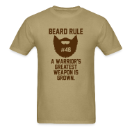 T-Shirts ~ Men's T-Shirt ~ Beard Rule #46