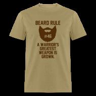 T-Shirts ~ Men's T-Shirt ~ Beard Rule #46