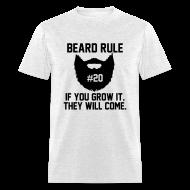 T-Shirts ~ Men's T-Shirt ~ Beard Rule #20