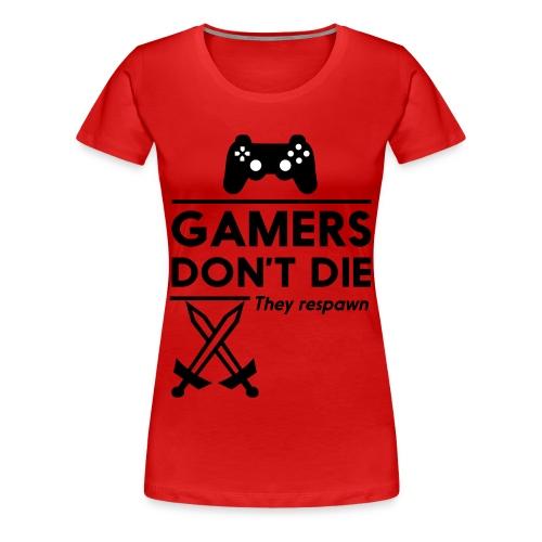 Gamers - Women's Premium T-Shirt