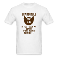 T-Shirts ~ Men's T-Shirt ~ Beard Rule #47
