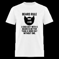 T-Shirts ~ Men's T-Shirt ~ Beard Rule #48