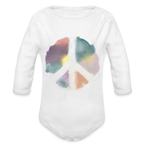 Baby's Peace - Organic Long Sleeve Baby Bodysuit