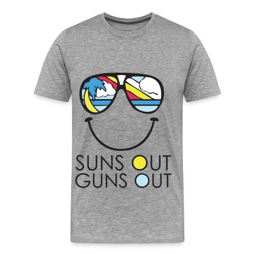 Sun's Out Gun's Out - Men's Premium T-Shirt