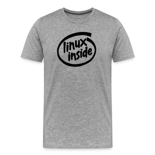 Linux Inside Tee - Men's Premium T-Shirt