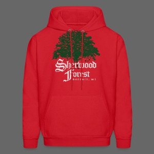 Sherwood Forest Detroit Michigan - Men's Hoodie