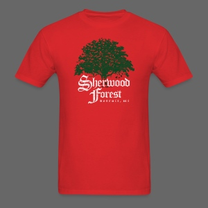 Sherwood Forest Detroit Michigan - Men's T-Shirt