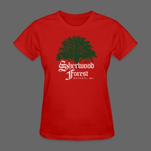 Sherwood Forest Detroit Michigan - Women's T-Shirt