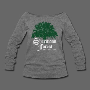 Sherwood Forest Detroit Michigan - Women's Wideneck Sweatshirt