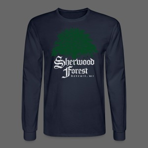 Sherwood Forest Detroit Michigan - Men's Long Sleeve T-Shirt