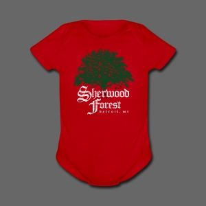 Sherwood Forest Detroit Michigan - Short Sleeve Baby Bodysuit