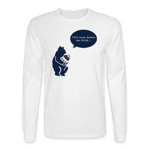 This Team Makes Me - Men's Long Sleeve T-Shirt