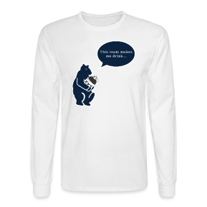 This Team Makes Me - Men's Long Sleeve T-Shirt