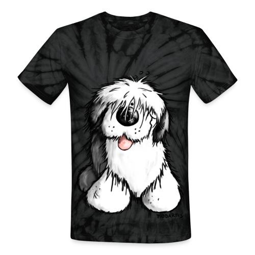 Unisex Tie Dye T-Shirt - unisex dog hippie dog men women
