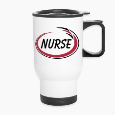 Nurse Swirl Bottles & Mugs