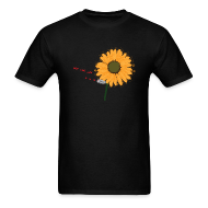 T-Shirts ~ Men's T-Shirt ~ Laser Sunflower