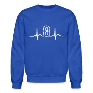 Boston Heart Beat - Crewneck Sweatshirt