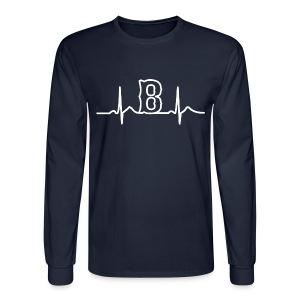 Boston Heart Beat - Men's Long Sleeve T-Shirt