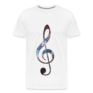 Music Note Tee - Men's Premium T-Shirt