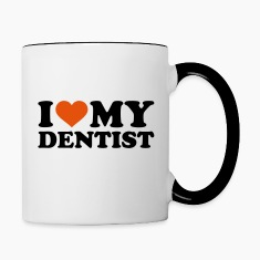 I love my Dentist Bottles & Mugs