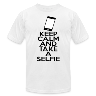 T-Shirts ~ Men's T-Shirt by American Apparel ~ Selfie