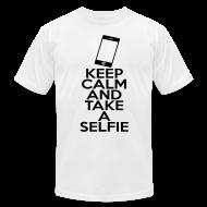 T-Shirts ~ Men's T-Shirt by American Apparel ~ Selfie